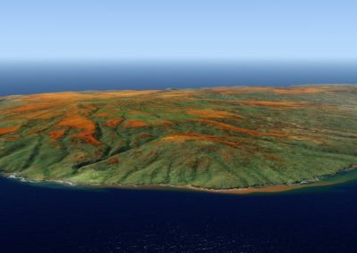Hawaii Photoreal Scenery Kahoolawe for Flight Simulator X (FSX) Prepar3D & X-Plane