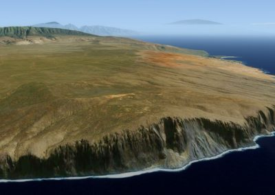 Hawaii Photoreal Scenery Lanai for Flight Simulator X (FSX) Prepar3D & X-Plane