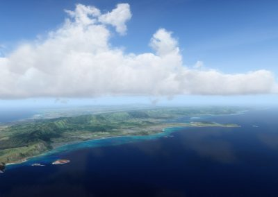 Hawaii Photoreal Scenery Oahu for Flight Simulator X (FSX) Prepar3D & X-Plane