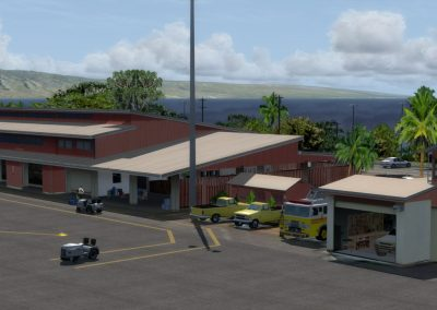 Hawaiian Airports JHM Maui West for Flight Simulator X (FSX) Prepar3D & X-Plane