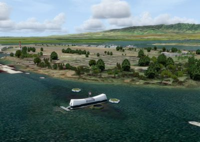 Hawaiian Airports NPS Ford Island for Flight Simulator X (FSX) Prepar3D & X-Plane