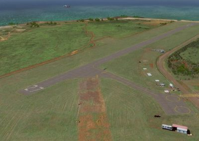 Hawaiian Airports PAK Port Allen for Flight Simulator X (FSX) Prepar3D & X-Plane