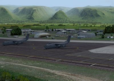 Hawaiian Airports PHBK Barking Sands for Flight Simulator X (FSX) Prepar3D & X-Plane