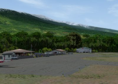 Hawaiian Airports PHHN Hana for Flight Simulator X (FSX) Prepar3D & X-Plane