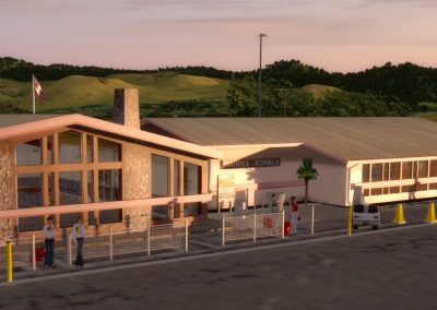 Hawaiian Airports PHMU Waimea for Flight Simulator X (FSX) Prepar3D & X-Plane