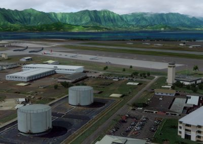 Hawaiian Airports PHNG Kaneohe Bay for Flight Simulator X (FSX) Prepar3D & X-Plane