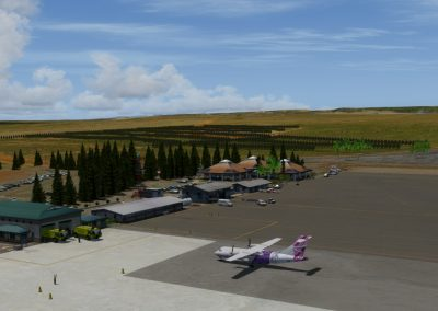 Hawaiian Airports PHNY Lanai for Flight Simulator X (FSX) Prepar3D & X-Plane