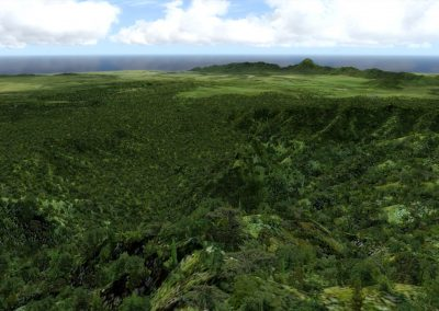 Hawaii autogen vegetation (BETA) for FSX and Prepar3D... ready! 3