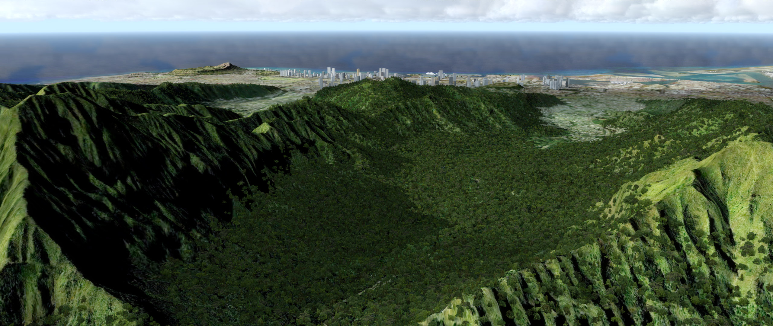 Hawaii autogen vegetation (BETA) for FSX and Prepar3D... ready! 1